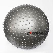 Мяч для фитнеса (фитбол) массажный 65см Zelart (FI-1987-65, серый)