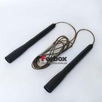 Скакалка скоростная с подшипниками и PVC жгутом (FI-8295, черный)