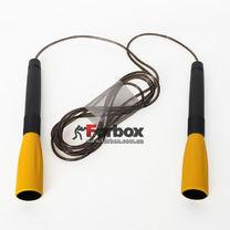 Скакалка скоростная с подшипниками и PVC жгутом (FI-8295, желтый)