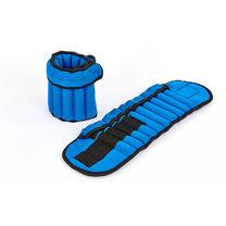 Обважнювачі-манжети для рук і ніг з складальним вагою 2 по 2,5 кг (FI-7207, синій)