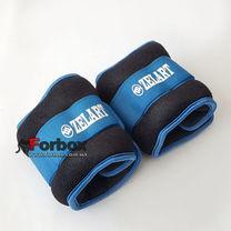 Утяжелитель манжеты для рук и ног Zelart 2*0,5кг (FI-2502-1, синий)