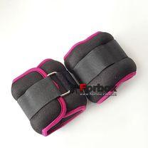 Універсальний обтяжувач для рук і ніг Zelart 2 * 1,5 кг (FI-2502-3, фіолетовий)