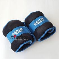 Універсальний обтяжувач для рук і ніг Zelart 2 * 2 кг (FI-2502-4, синій)