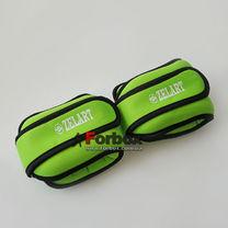 Універсальний обтяжувач для рук і ніг Zelart 2 * 1,5 кг (FI-5732-3, зелений)