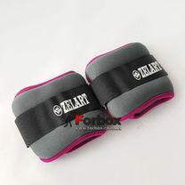 Універсальний обтяжувач для рук і ніг Zelart 2 * 1 кг (FI-5733-2, рожевий)