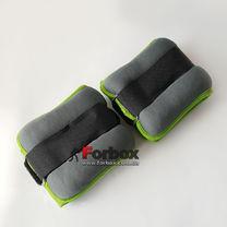 Универсальный утяжелитель для рук и ног Zelart 2*2кг (FI-5733-4, зеленый)