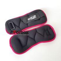 Утяжелители-манжеты для рук и ног 2шт по 1,5кг (TA-4370-PN, розовий)
