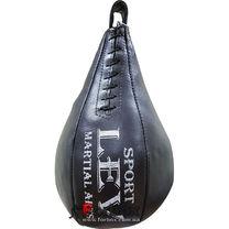 Груша боксерская каплевидная из ременной кожи 3кг lev sport (кожа, 3кг)