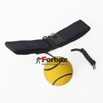 Мяч на резинке Fight Ball Профи с желтым мячиком