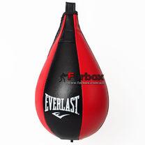Груша пневматическая каплевидная подвесная Everlast (BO-6316, красно-черная)