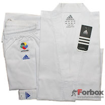 Кимоно для каратэ Evolution Adidas с аккредитацией WKF (K201EK-SP, два размера)
