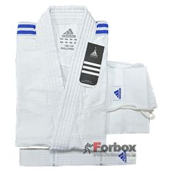 Кимоно для дзюдо Adidas Evolution2 на 2а размера (J250EK, белое)