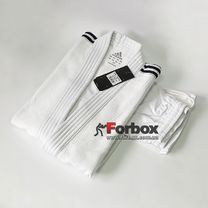 Кимоно для дзюдо Adidas Training 450 гм2 (J500T, белое)