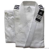 Кимоно для дзюдо Adidas Contest 650 гм2 (J650C, белое)