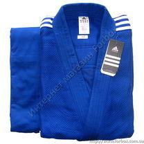 Кимоно для дзюдо Adidas Contest 650 гм2 (J650, синее)