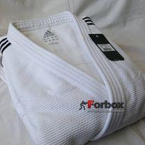 Кимоно для дзюдо Adidas Champion 2 с лицензией IJF 730 гм2 (J-IJF, белое)