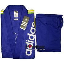Кимоно для джиу-джитсу Adidas Rio Cut 500гм2 (JJ500, синее)