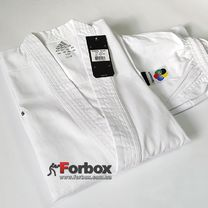 Кимоно для каратэ Club Adidas с аккредитацией WKF (K220, белое)