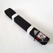 Пояс для дзюдо Adidas с аккредитацией IJF (adiB242IJF, черный)