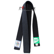 Черный пояс для кимоно IJF Green Hill (JBI-10338)