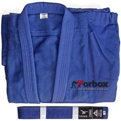 Кимоно для дзюдо Matsa 450 гм2 (МА-0015, синее)