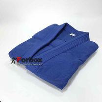 Куртка для дзюдо Matsa синего цвета на рост 170 см