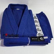 Куртка для самбо Matsa 500 гм2 (MA-3211, синяя)