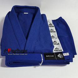 Куртка для самбо Matsa 500 гм2 (MA-3211, синя)