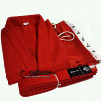 Куртка для самбо Matsa 500 гм2 (MA-3211, красная)