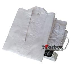 Кимоно для каратэ Matsa белое 240 гм2 (MA-0016, белое)