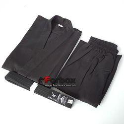 Кимоно для каратэ Matsa (MA-0017) черное