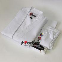 Кимоно для каратэ Smai Karate Economy GIN с аккредитацией WKF (AS-003EWKF, белое)