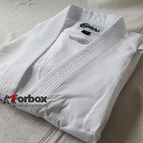 Кимоно для каратэ Smai Pro Fighter с лицензией WKF без пояса (AS-054, белое)