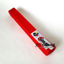 Пояс для кімоно Smai з ліцензією WKF (SWKF-1, червоний)