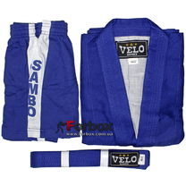 Куртка для самбо Velo 500 гм2 (VL-8127, синяя)