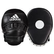 Лапы боксерские Adidas Heavy Weight кожаные (ADIBAC0111, черные)