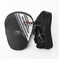 Лапы боксерские изогнутые Bad Boy Flex Pro Series Advanced (VL-8278, черный)