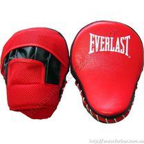 Лапы гнутые Everlast PVC (BO-3955, красные)