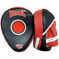 Лапы гнутые REYVEL винил (0132-rdbk, красно-черные)
