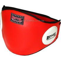 Тренерский пояс (защита живота) REYVEL (0163-rd, красный)