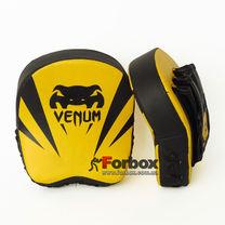 Лапы изогнутые мини Venum Flex 18*16*5см (VL-8325, желто-черный)
