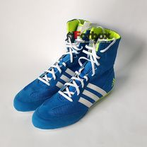 Боксерки Adidas Box Hog 2 (AQ3404, светло-синие)