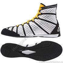 Боксерки AdiZero Adidas (M29836, бело-черные)