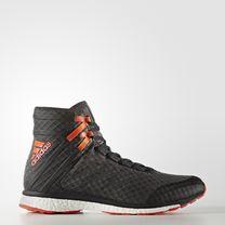 Боксерки профессиональные Adidas SpeedEX 16.1 BOOST (черные)