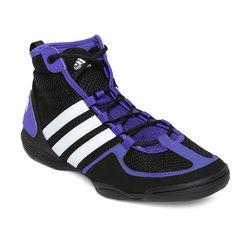 Боксерки Adidas Box Fit 3 (В44381, чорно-фіолетові)