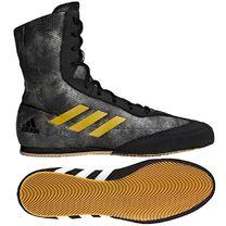 Обувь для бокса Боксерки Adidas Box Hog 2 (DA9897, серо-черные)