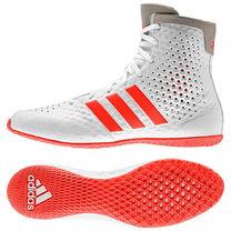 Профессиональные боксерки Adidas KO Legend 16.1 (G62679, бело-красные)
