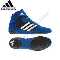 Обувь для борьбы Adidas борцовки Pretereo 2 (U42107, сине-черные)