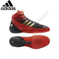 Обувь для борьбы Adidas борцовки Response 3 (G62633, красно-черные)