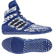 Борцовки профессиональные Adidas Flying Impact (AC7492, бело-синие)